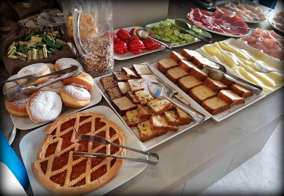 L'importanza della colazione in albergo, b&b a Jesolo Lido